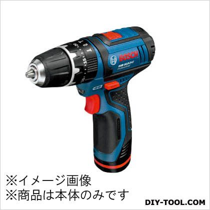 ボッシュ バッテリー振動ドライバードリル(本体のみ) 青/黒 (GSB10.8-2-LIH)