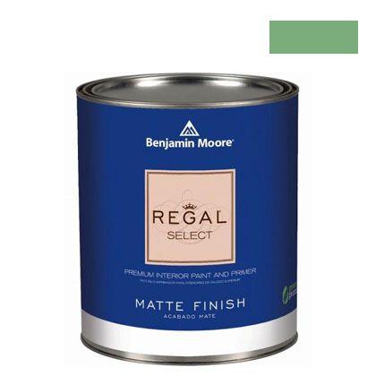 ベンジャミンムーアペイント リーガルセレクトマット 艶消し エコ水性塗料 aurora borealis (Q221-565) Benjaminmoore 塗料 水性塗料