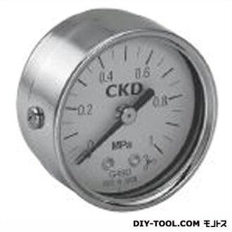 供CKD泛使用的壓力表寬度×縱深×高度:52*46.5*52mm(G59D-8-P10)