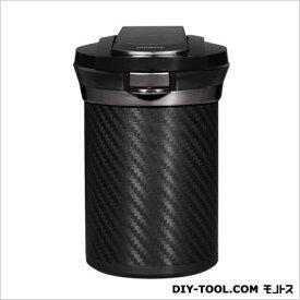 カーメイト 愛煙缶Premium カーボン調ブラック 灰皿 ブラック (DZ186)