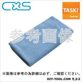 シーバイエス マイクロファイバークロス TASKIマイクロクイック 青 W400xH400mm (5627662) 5枚