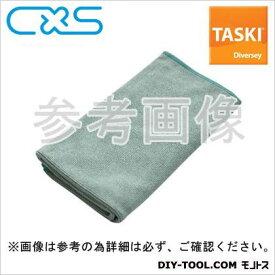 シーバイエス マイクロファイバークロス TASKIマイクロクイック 緑 W400xH400mm (5627697) 5枚