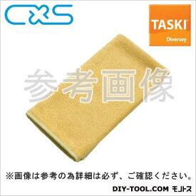 シーバイエス マイクロファイバークロス TASKIマイクロクイック 黄 W400xH400mm (5627689) 5枚