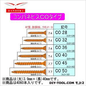 ダンドリビス コンパネビス COタイプ 徳用箱 3.9mm×40mm 448-D-58 4060本
