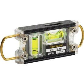 エビス ダイヤモンドトビレベル−2ブラック/グリーン ブラック/グリーン 16×43×120 ED-TB2B 水準器