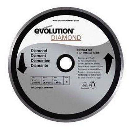 エボリューション(evolution) フューリー3(FURY3)用替刃ダイヤモンドホイールチップソー(ダイヤモンドカッター) 200mm