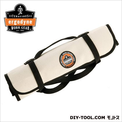 アーゴダイン 工具用カバン(鞄) キャンバス地ツールバッグ ホワイト L38.1cm×W22.9cm (5780)