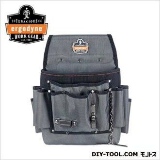 アーゴダイン 電氣施工工量具 (腰袋) 電動腰袋灰色 5548)