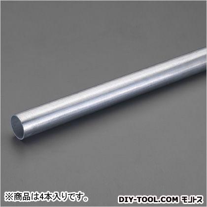 エスコ 単管パイプ 直径48.6mm×2.0m EA948TP-2 4 本