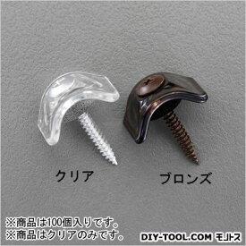 エスコ/esco 波板用ビス(木下地用) クリア EA952CD-11 100個