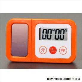 デジタルタイマー[ソーラー充電式] 95(W)×10(D)×57(H)mm (EA798C-94)