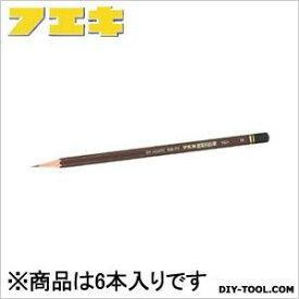 フエキ 建築用鉛筆 H 黒 (KEH-6) 6本