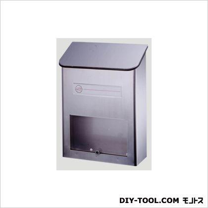 グリーンライフ ファミリーポスト 壁掛けタイプ シルバー W25.5×D12.0×H33.5cm (PS-20H) Greenlife 郵便ポスト・宅配ボックス 壁付け郵便ポスト