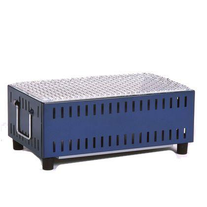 グリーンライフ コンパクト卓上七輪 ブルー (UC-350(BL)) 1個