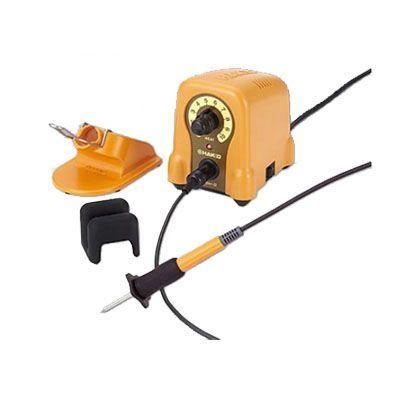 白光/HAKKO ウッドバーニング用ハッコーマイペンアルファ100V平形プラグ FD210-01 電熱ペン
