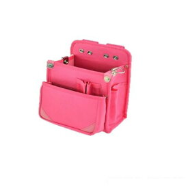 マルキン マルキン印 内側ポケット/ナイロン腰袋B2 桃 H230×W150×T120 (MK-133)