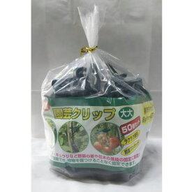 福農産業 園芸クリップ(大大) グリーン TG09233 50 個入5セット