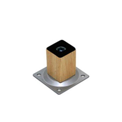 光 家具用角脚(1本)木製 32×50mm KSW-3205 テーブル脚 パーツ