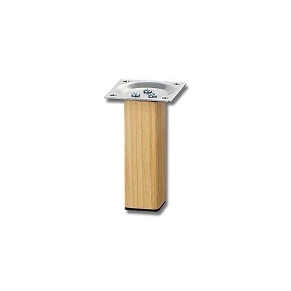 光 家具用角脚(1本)木製 32×100mm KSW-3210 テーブル脚 パーツ