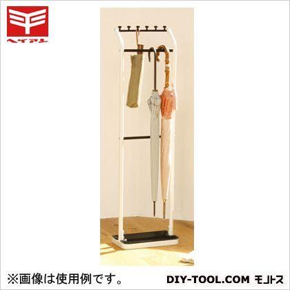 平安伸銅工業 アンブレラハンガー(傘たて) 白 H-3