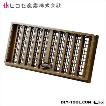ヒロセ産業 ひかり(床下換気孔) 濃いウグイス色 200×400mm (03319198)