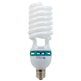 デンサン 電球型蛍光ランプ ・寸法:全長約325mm・外径:約φ100mm EFD105-SD1VA