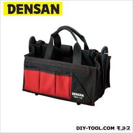 デンサン ツールバケット レッド/ブラック TBX-110