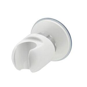 GAONA これカモ吸盤式シャワーフック角度調節お風呂に取付 ホワイト GA-FP001 1