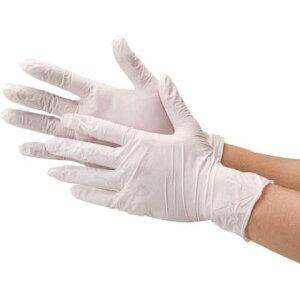 川西工業 極薄ニトリルゴム手袋(白) 粉無 2039WM 100 枚