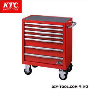 ※法人専用品※KTC KTCローラーキャビネット(7段7引出し) レッド EKW-1007R 1台