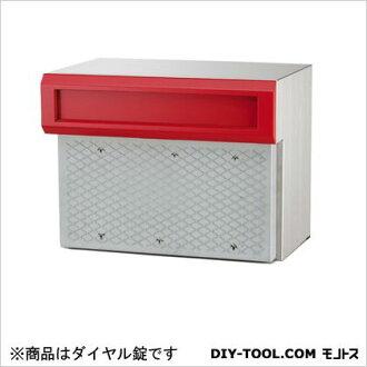 牛索尼娅邮政邮政索尼娅嵌入式嵌入式的盒 C 型类型拨号锁红 27 29 x 39 厘米 (C905R) corissonia 邮政和快递框墙装入邮箱