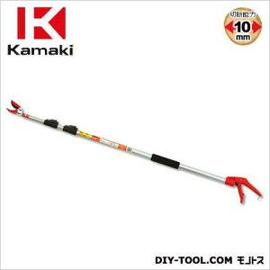 カマキ 3段継伸縮式高枝切鋏かるのびサンダン3m 全長1.4m~3.0m #1430