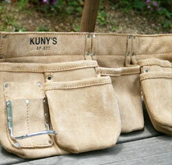 革製腰袋ダブルバッグ
