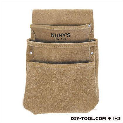 クニーズ 革製シングルバッグ腰袋片側(ベルト無し) DW-1018