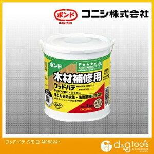 コニシ ボンド木材補修用ウッドパテ 1kg タモ白 #25824 1個