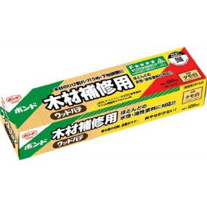 コニシ ボンド 木材補修用 ウッドパテ 120ml タモ白 #25621 1箱