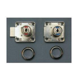 SOWA 表示器付面付錠 22mm ( N5018-22L/MK)