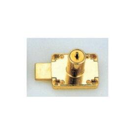 SOWA 面付ロッカー錠 ゴールド 22mm ( B508-22L)