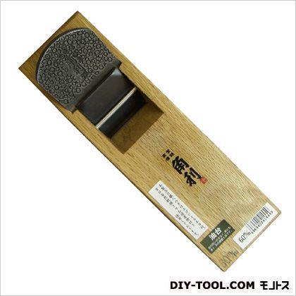 角利産業 二枚刃鉋油台 サイズ:台寸法/77×258mm、有効削幅/51mm、刃幅/60mm 41444