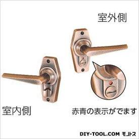 川口技研 ホームレバー表示錠 BS60 銅ブロンズ 60MM HL-4C