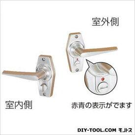川口技研 ホームレバー表示錠 BS60 ニッケル 60MM HL-4N