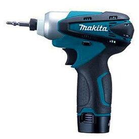 マキタ/makita JPA充電式インパクトドライバ(バッテリー2個&充電器付き) 青 TD090DWX