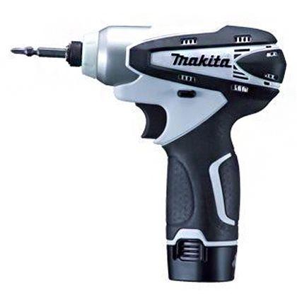 マキタ/makita JPA充電式インパクトドライバ(バッテリー2個&充電器付き) 白 TD090DWXW