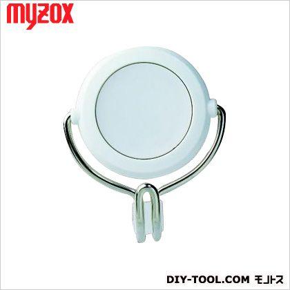 マイゾックス 超強力カラーマグネットフック 白 60*70*37mm MG-757