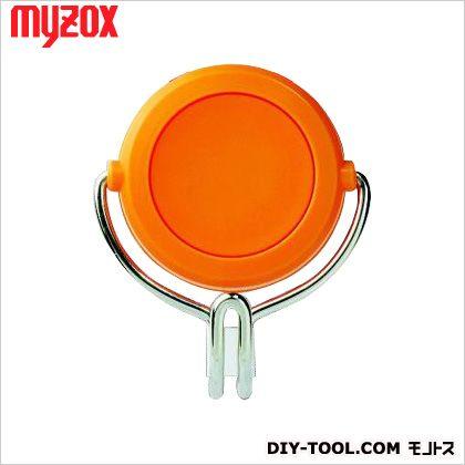 マイゾックス 超強力カラーマグネットフック 橙 48*58*23mm MG-743