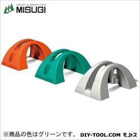 ミスギ サイクルポジション L500×W300×H235mm グリーン CP-500 1台
