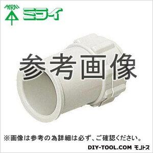 未来工業 コネクタ(ミラフレキ用) ミルキーホワイト (FPK-22-OM) 10ヶ