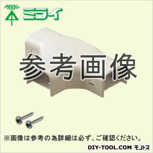 未来工業 モールダクト 付属品 チーズ ミルキーホワイト MDT-60M
