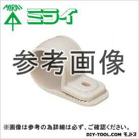 未来工業 ワニグチ片サドル(兼用タイプ) ミルキーホワイト (KTK-22M) 50ヶ