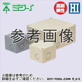 未来工業 プールボックス グレー (PVP-1515N)